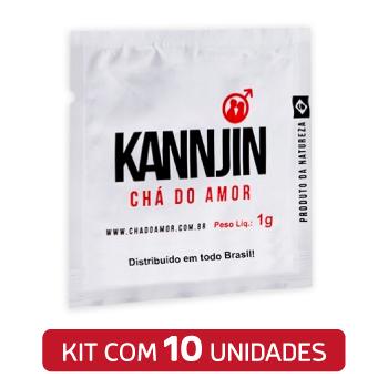Chá Do Amor Kannjin c/ 10 Sachês