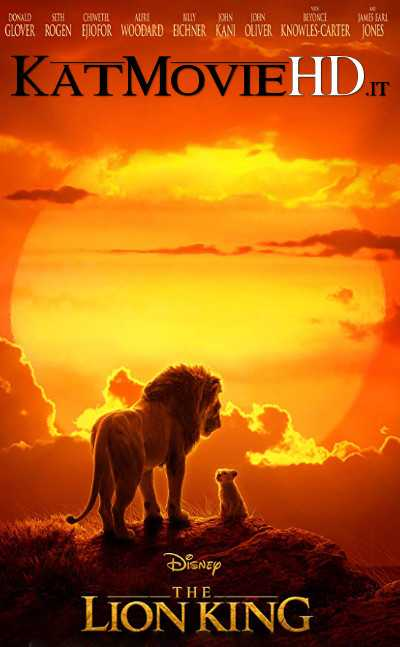 The Lion King (2019) Full Movie 480p 720p HD CamRip (In English)