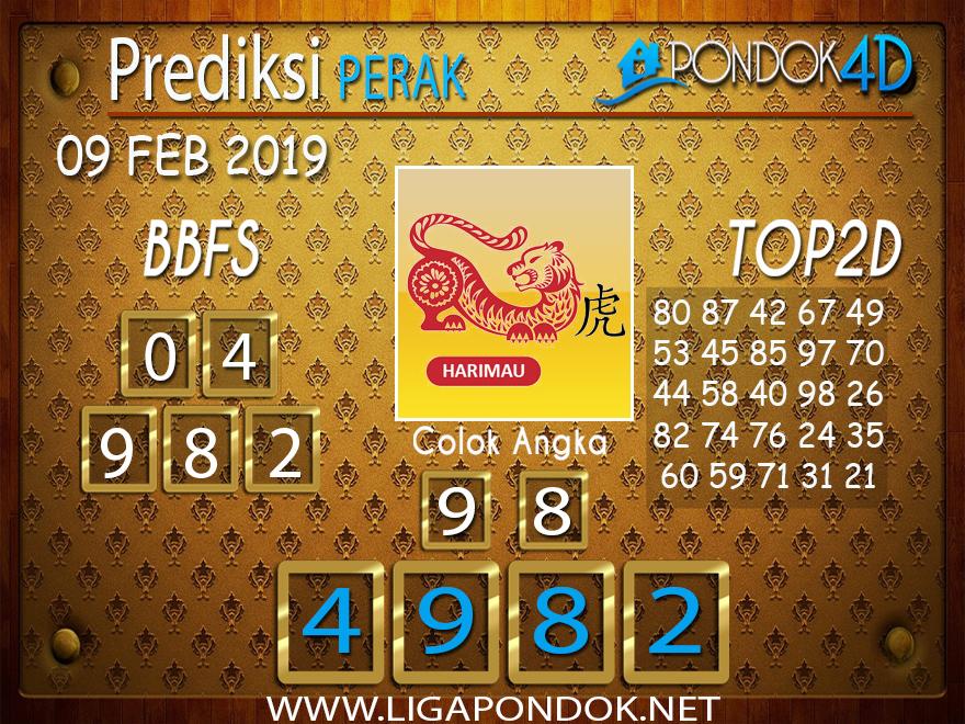Prediksi Togel PERAK PONDOK4D 09 FEBRUARI 2019