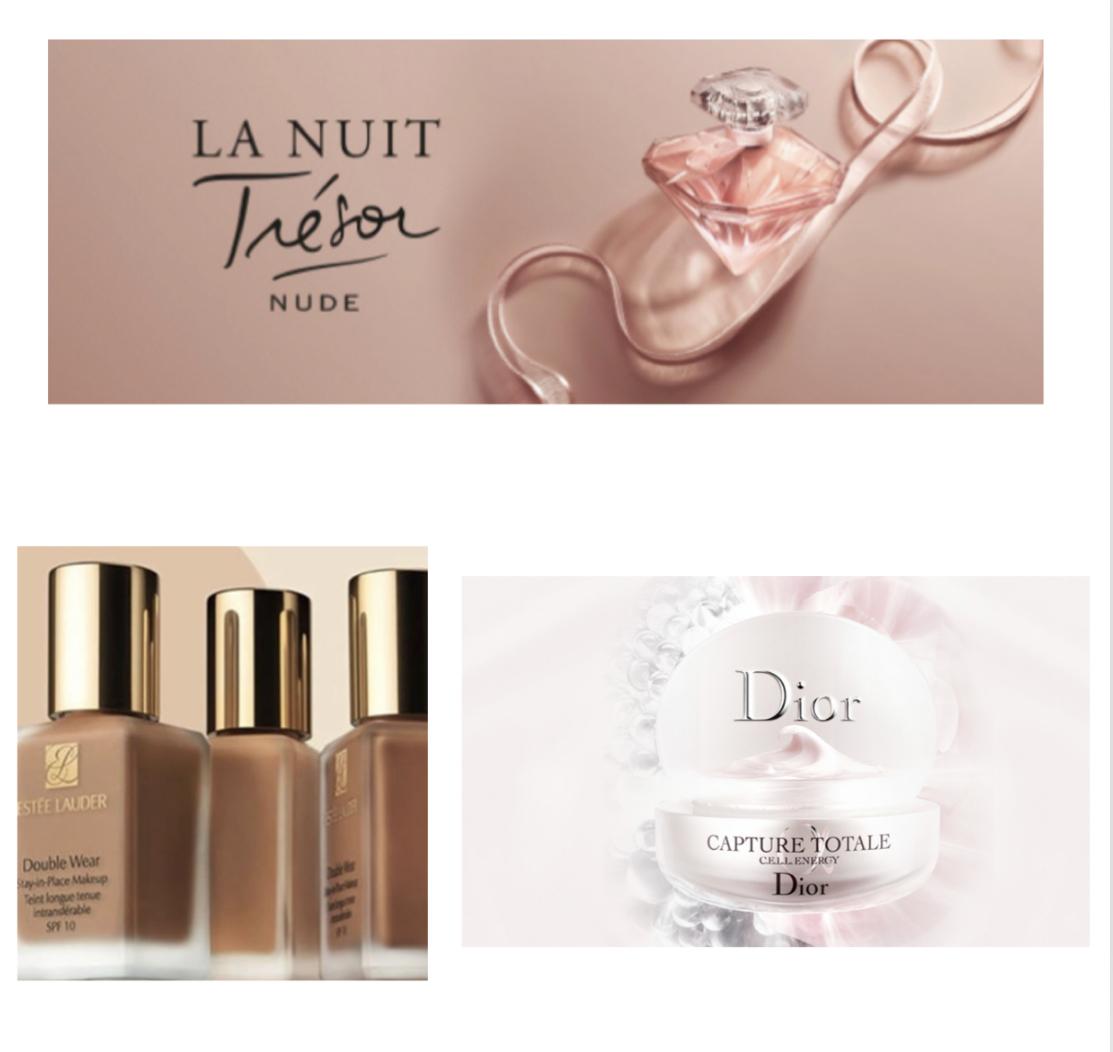 Muestras gratis: La Nuit Trésor Nude, Estée Lauder Double Wear y Capture Totale de Dior. (A recoger)