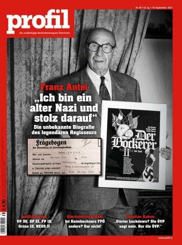 Cover: Profil Nachrichtenmagazin No 38 vom 19  September 2021