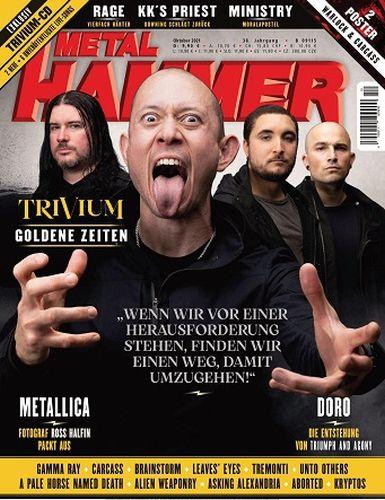 Cover: Metal Hammer Magazin No 10 Oktober 2021