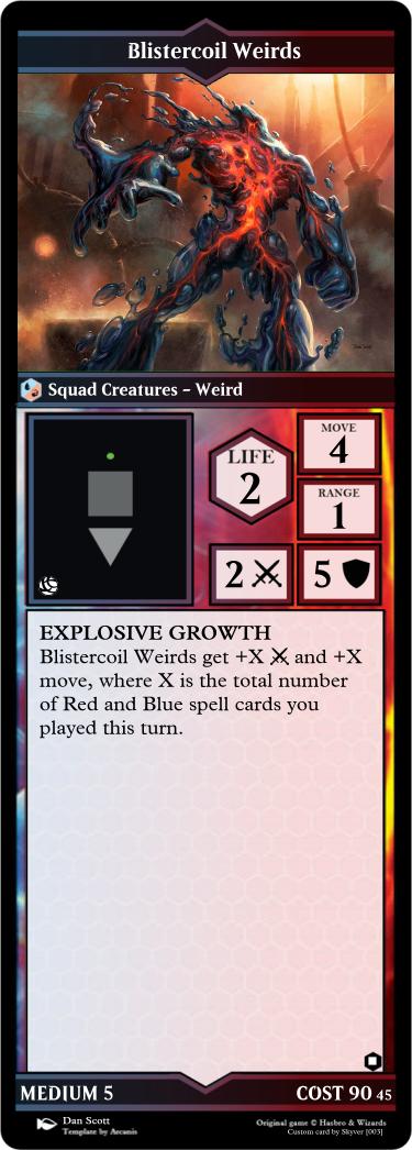 Blistercoil-Weirds