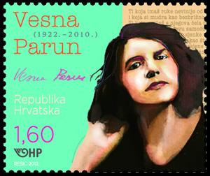 2012. year ZNAMENITI-HRVATI-VESNA-PARUN