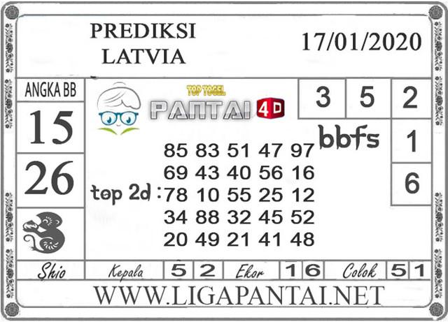 PREDIKSI TOGEL LATVIA PANTAI4D 17 JANUARI 2020
