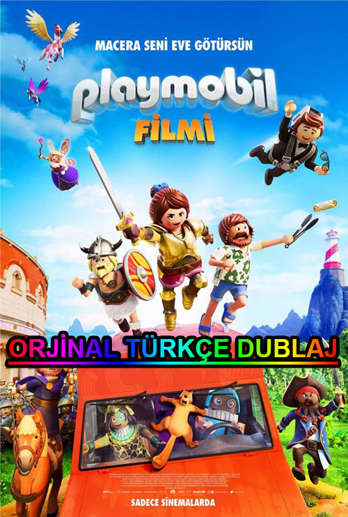 Playmobil Filmi | Playmobil: The Movie | 2019 | BDRip | XviD | Türkçe Dublaj | m720p - m1080p | BluRay | Dual | TR-EN | Tek Link