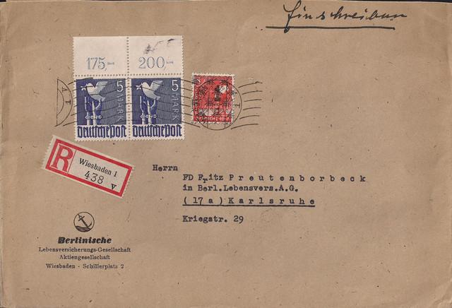 1948-06-22-All-BIZ-ZF-II-Kontrollrat-u-Posth-rnchen-108-Pf-mit-2mal-962-PORdgz-Wiesbaden-V