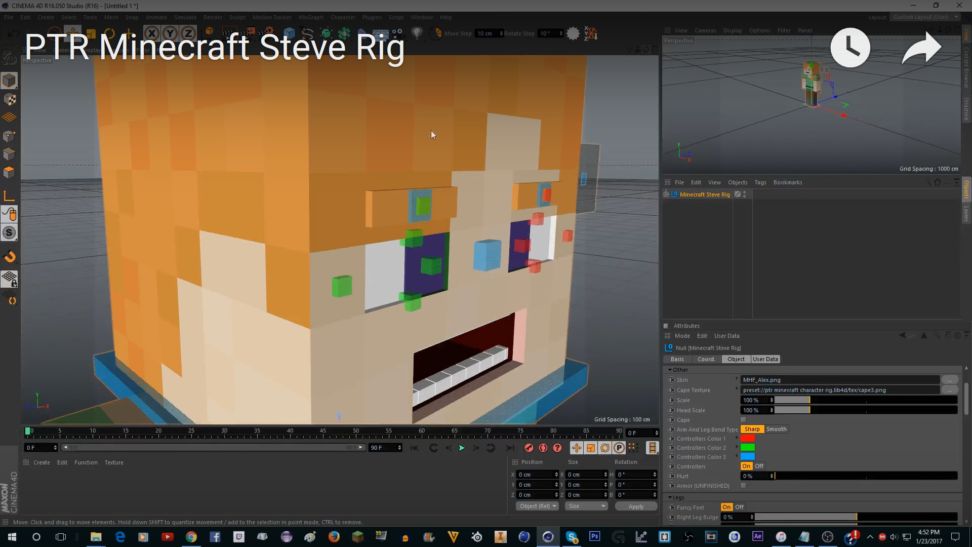 Cinema 4d Auto Rigging Plugin