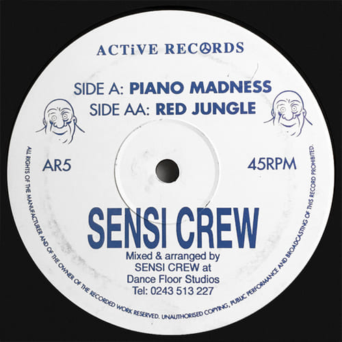 Sensi Crew - Piano Madness / Red Jungle