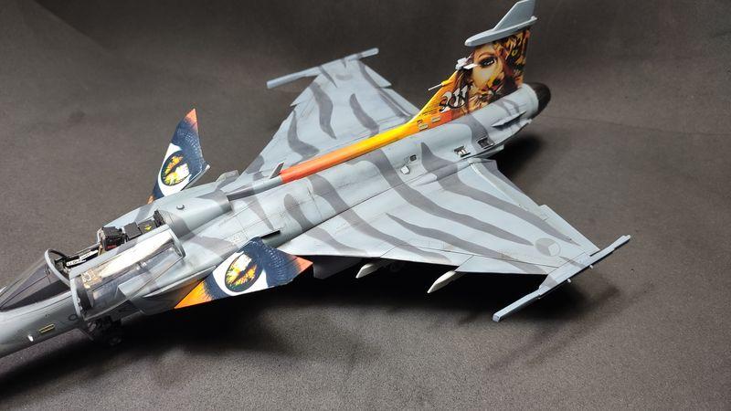 """MT: Jas-39C Gripen """"Wild Tiger"""" NTM 2017 Kitty Hawk 1/48 IMG-20200209-194919"""