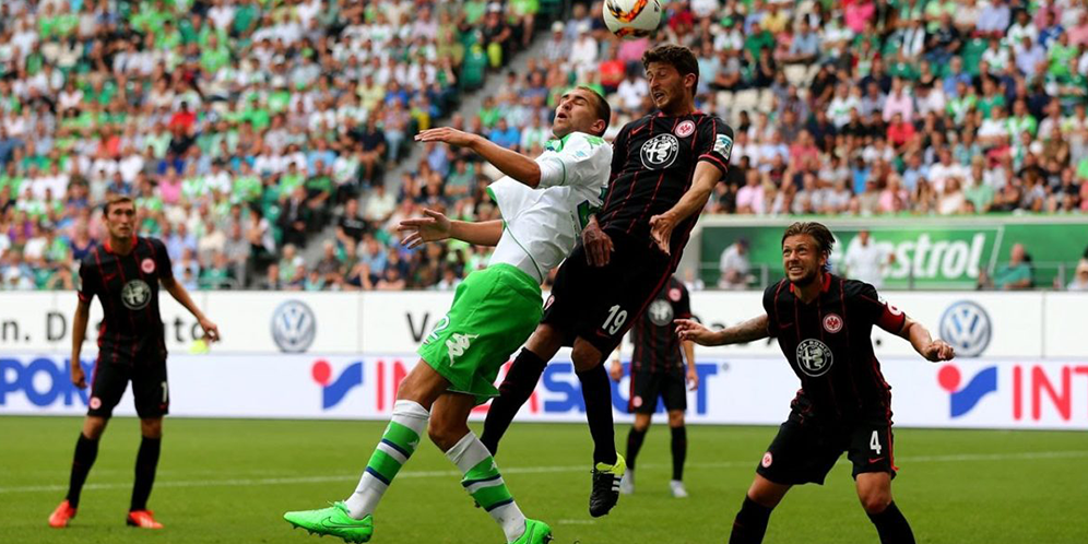 Video Highlights Liga German Eintrach VS Wolfsburg 1-2