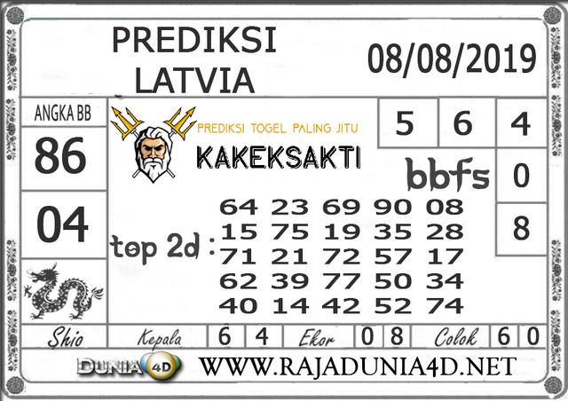 "Prediksi Togel ""LATVIA"" DUNIA4D 08 AGUSTUS 2019"