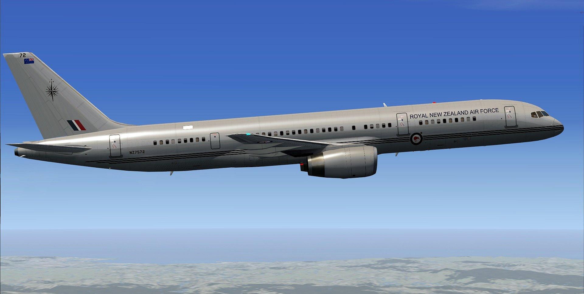 RNZAF 757-200M In Action