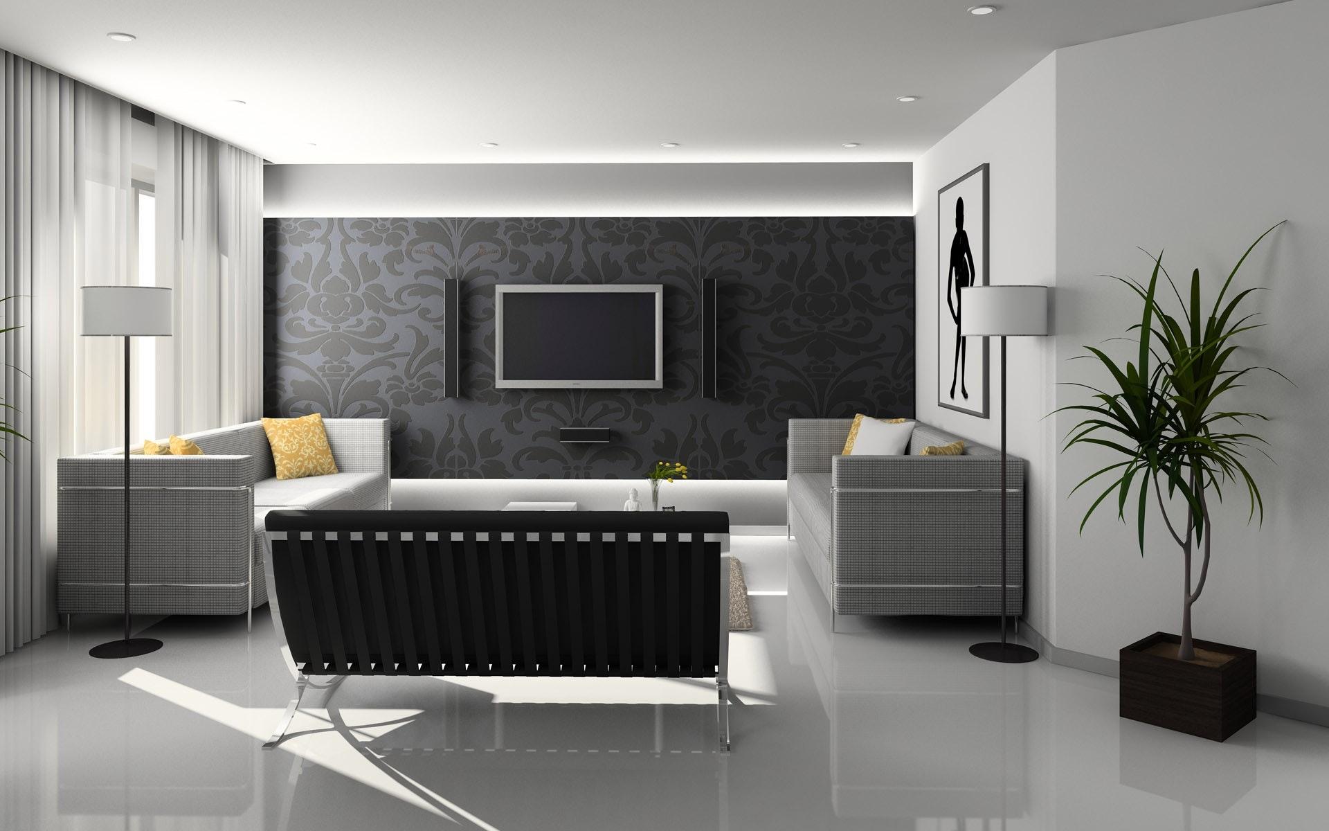 Material Lantai, dinding, Plafond Modern