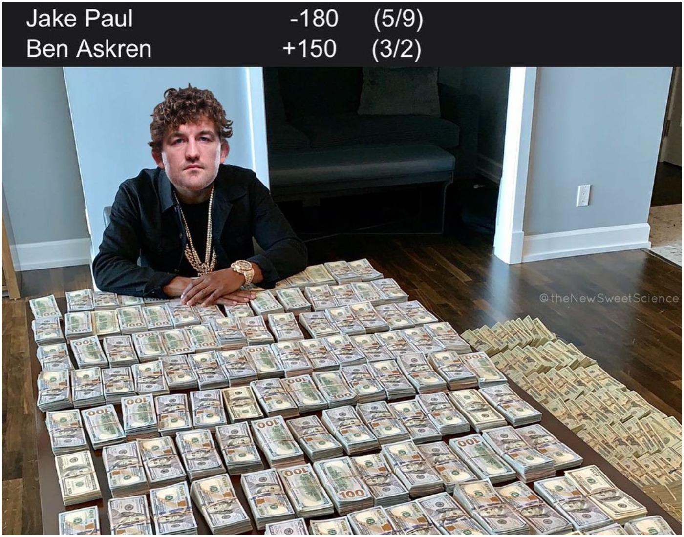 Бен Аскрен: Побеждавам Джейк Пол, залагайте всичко