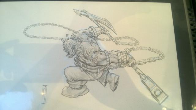 Galerie Daniel Maghen [originaux Warhammer Battle & 40K] 35