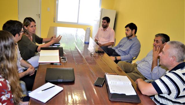 Locales: Funcionarios de Nogoyá visitaron el EPPE