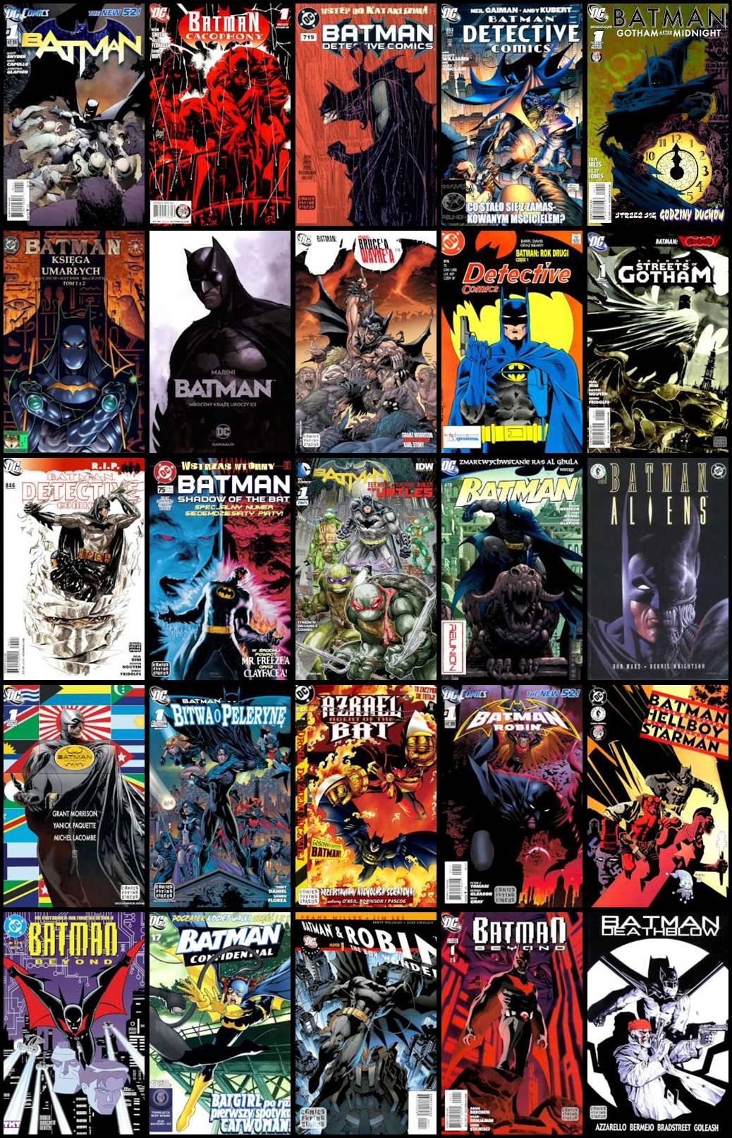 Batman - Różne Komiksy