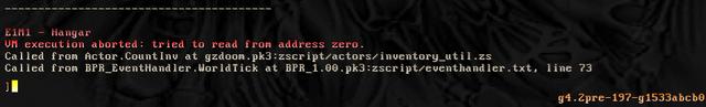 GZDoom Error