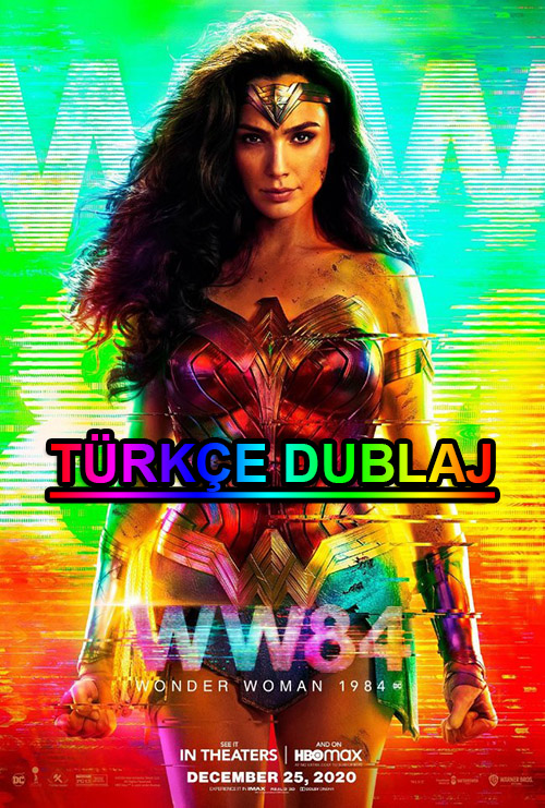 Wonder Woman 1984 | 2020 | WEB-DL | XviD | Türkçe Dublaj | m720p - m1080p | WEB-DL | Tek Link