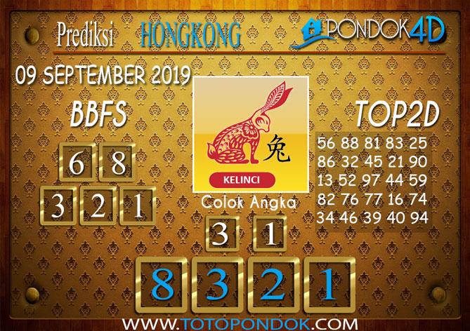 Prediksi Togel HONGKONG PONDOK4D 09 SEPTEMBER 2019