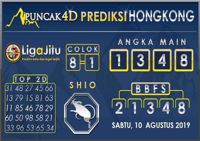 PREDIKSI TOGEL HONGKONG PUNCAK4D 10 AGUSTUS 2019
