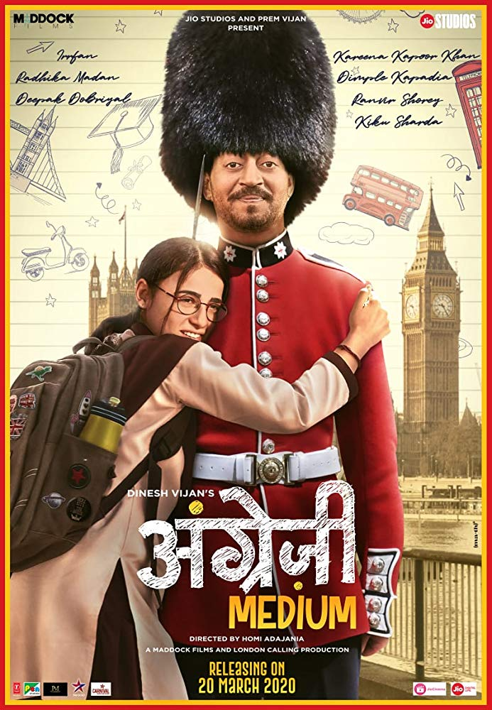 Angrezi Medium (2020) Hindi Pre-DVDRip x264 400MB Download