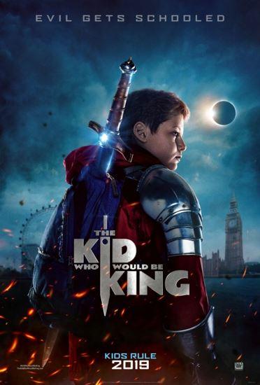 Dzieciak, który został królem / The Kid Who Would Be King (2019) PL.BRRip.XviD-KLiO | Lektor PL