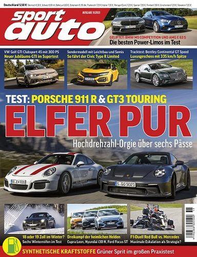 Cover: Sport Auto Magazin No 11 November 2021
