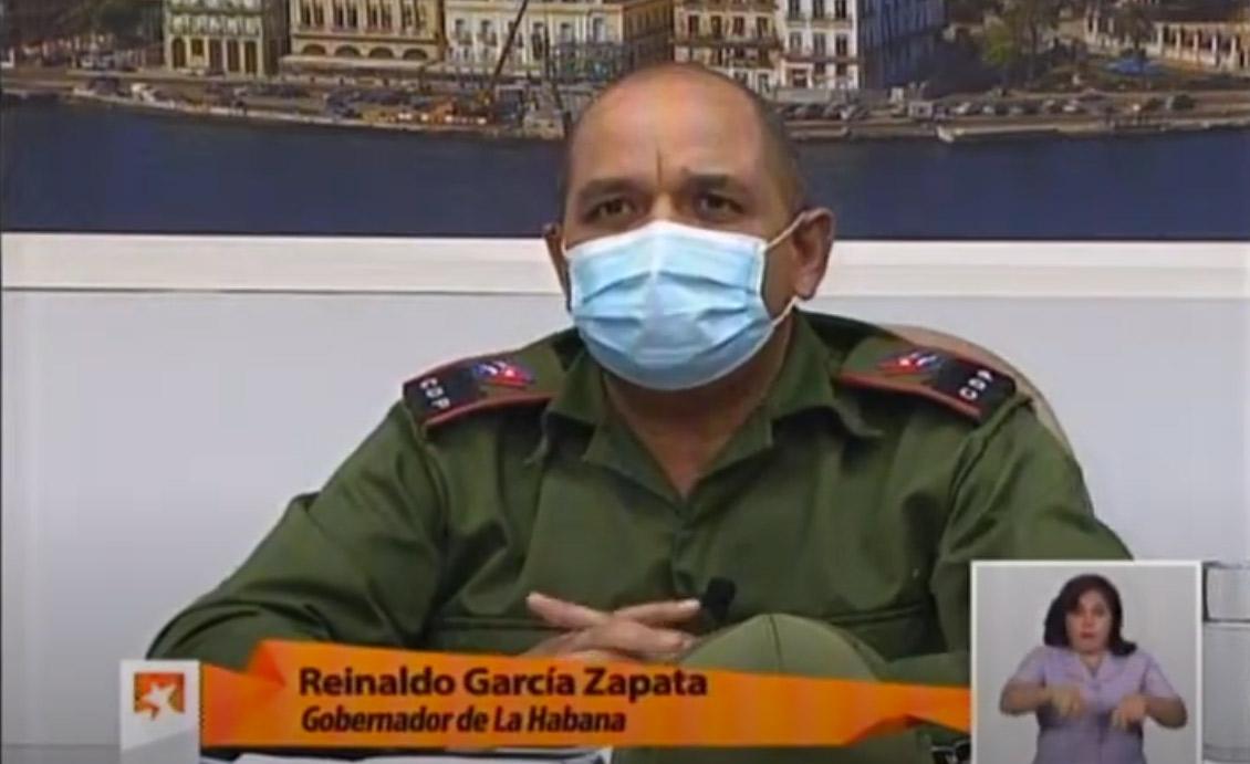Reinaldo Garci#ía Zapata, Gouverneur von Havanna | Bildquelle: https://www.youtube.com/watch?v=JgUJ8zSrzA0 © MesaRedonda/YouTube | Bilder sind in der Regel urheberrechtlich geschützt