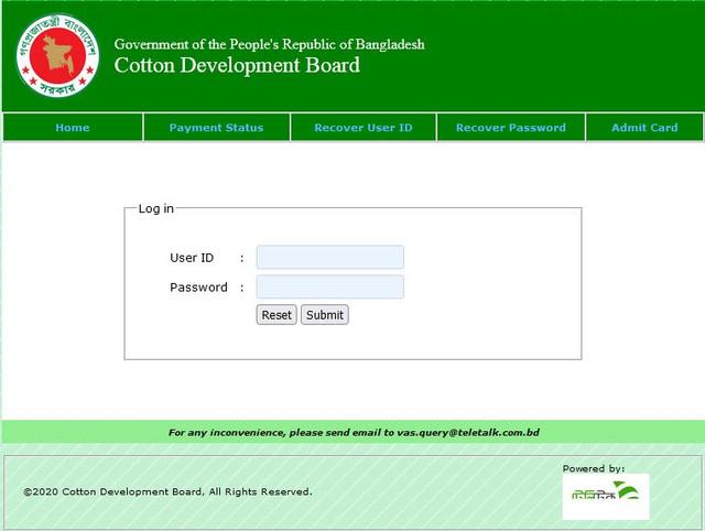 cdb.teletalk.com.bd Admit Card Download