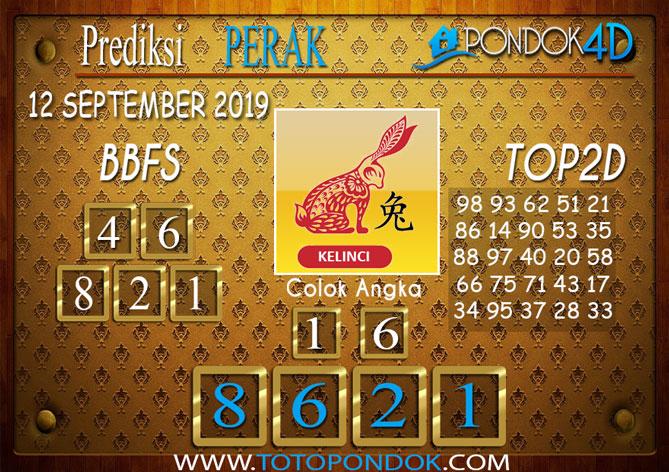 Prediksi Togel PERAK POOLS PONDOK4D 12 SEPTEMBER 2019