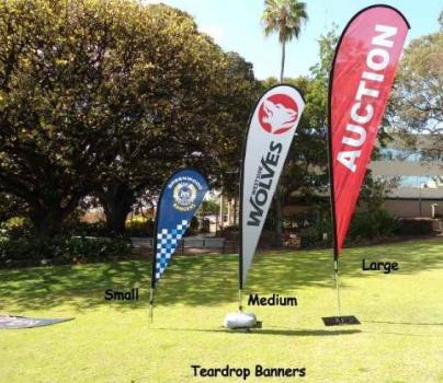 Teardrop-Banners-in-Perth