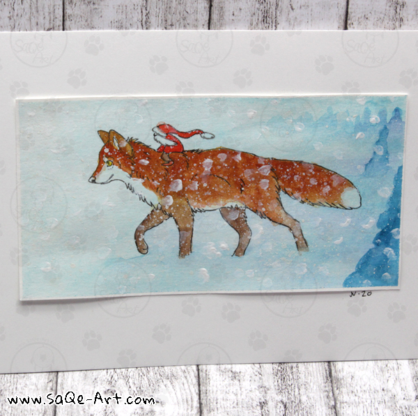 Fox and elf - SaQe-Art.com