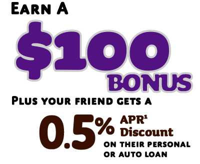 Earn $100 when you refer