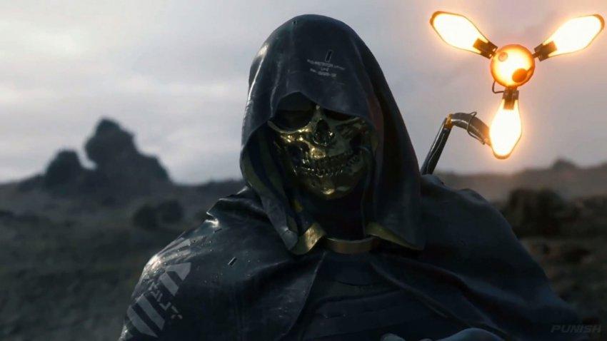 кадр из одной из самых ожидаемых игр 2019 года - death stranding
