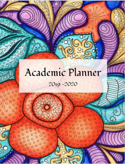 floral student academic planner