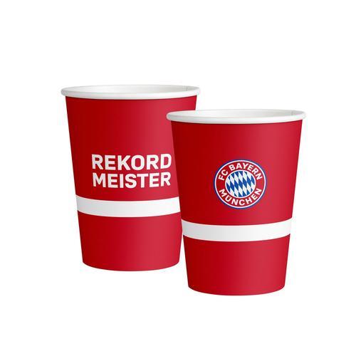 ჭიქა FC BayernMunich Paper 8ც