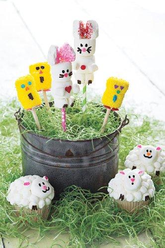 Marshmallow-animals
