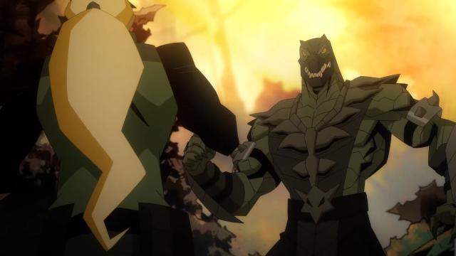 Mortal Kombat Legends Scorpion S Revenge Animated Movie Clip