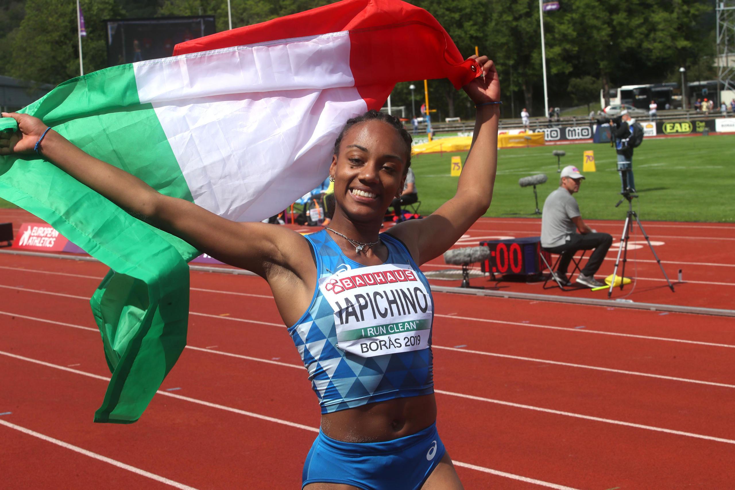 Larissa Iapichino volto della SS21 REDValentino