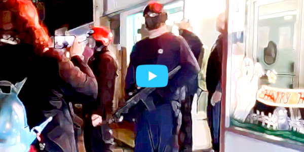 WATCH BLM-Antifa Mobs Brutally Attack Businesses and Civilians in Suburban Vancouver, Washington…
