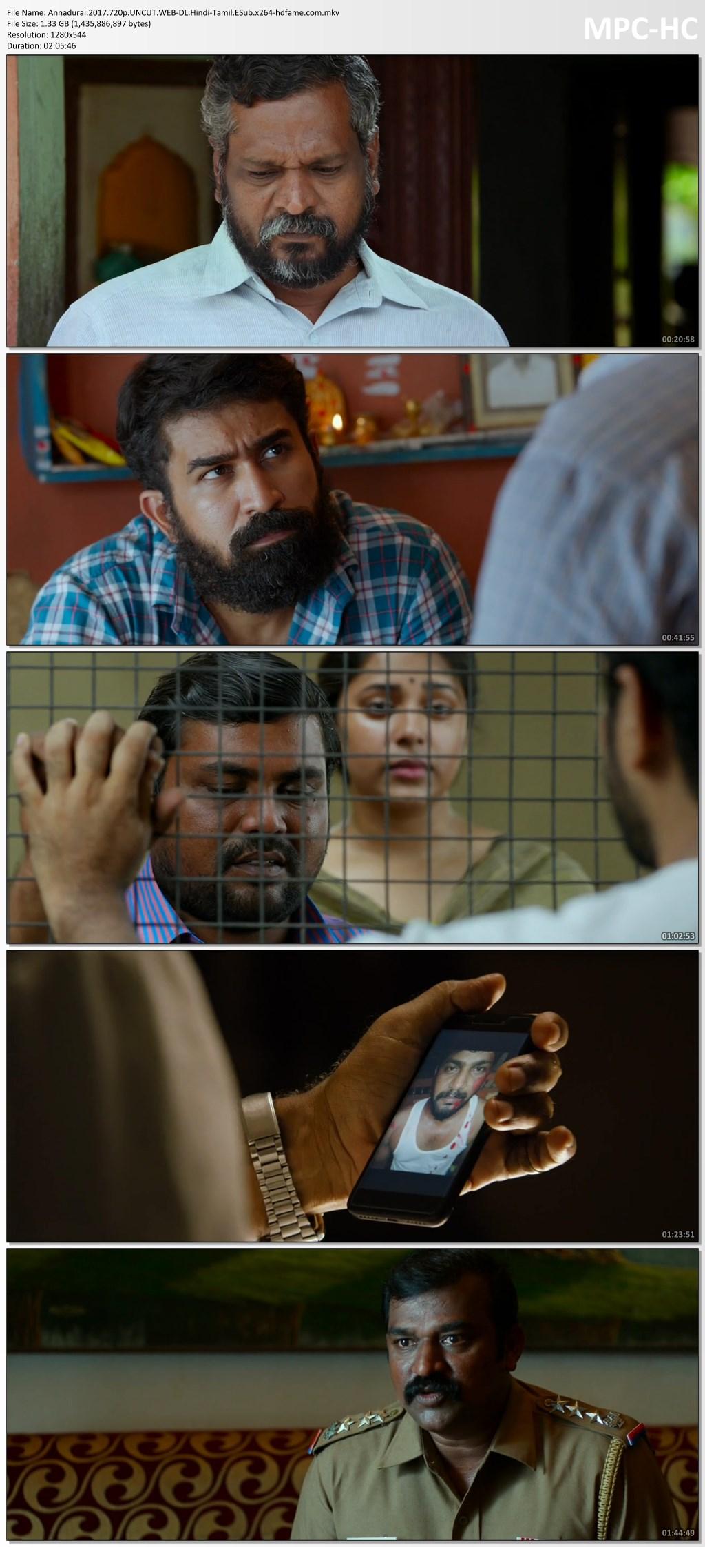 Annadurai 2017 Dual Audio (Hindi-Tamil) Full Movie
