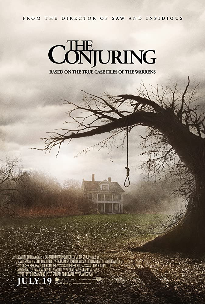 The Conjuring 2013 Hindi Dual Audio 720p BluRay ESubs 800MB | 450MB Download