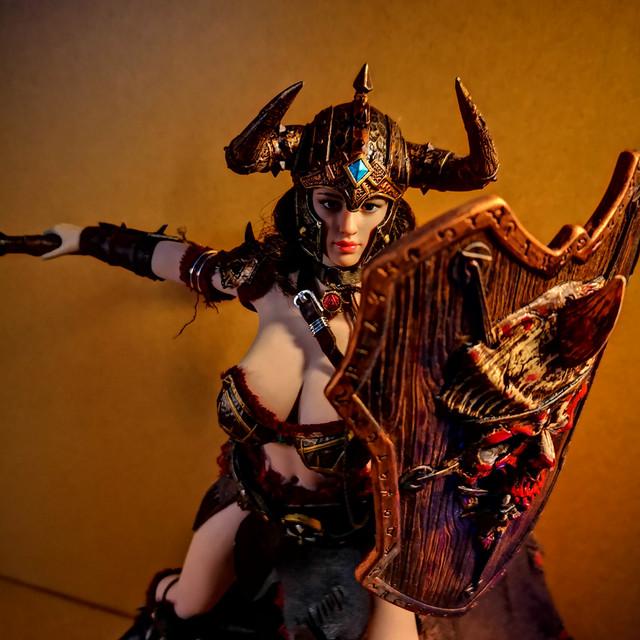 tbleague - NEW PRODUCT: TBLeague: 1/6 Viking Woman (# PL2020-162) Bsh