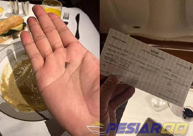 Singapore Airlines Minta Maaf Ada Baut di Sup Penumpang
