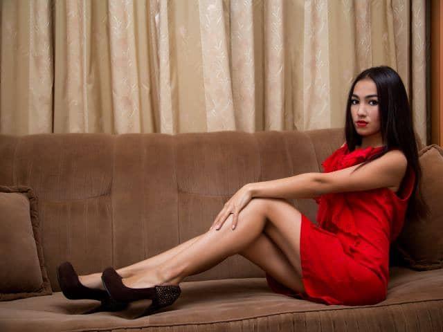 高贵气质长腿女孩ShortSkirt