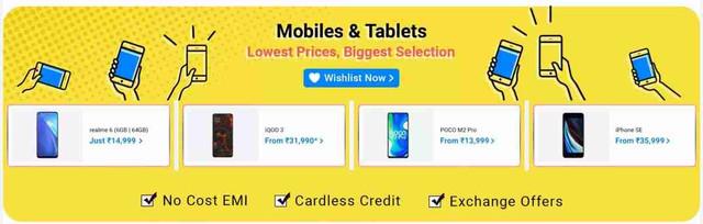 Flipkart Big Saving Days Sale Mobile Offers