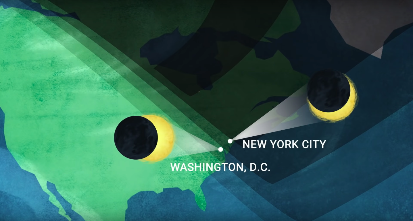 Solar eclipse to darken the sky over NYC Sun, moon to create 'ring of fire