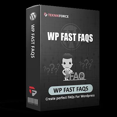 WP Fast FAQ